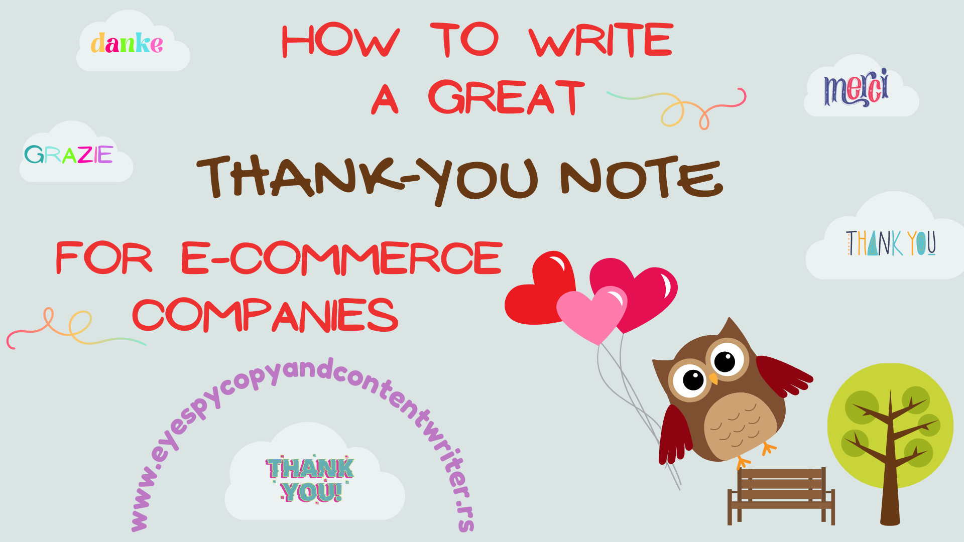 How to Write a Great Thank-You Note for E-Commerce Companies