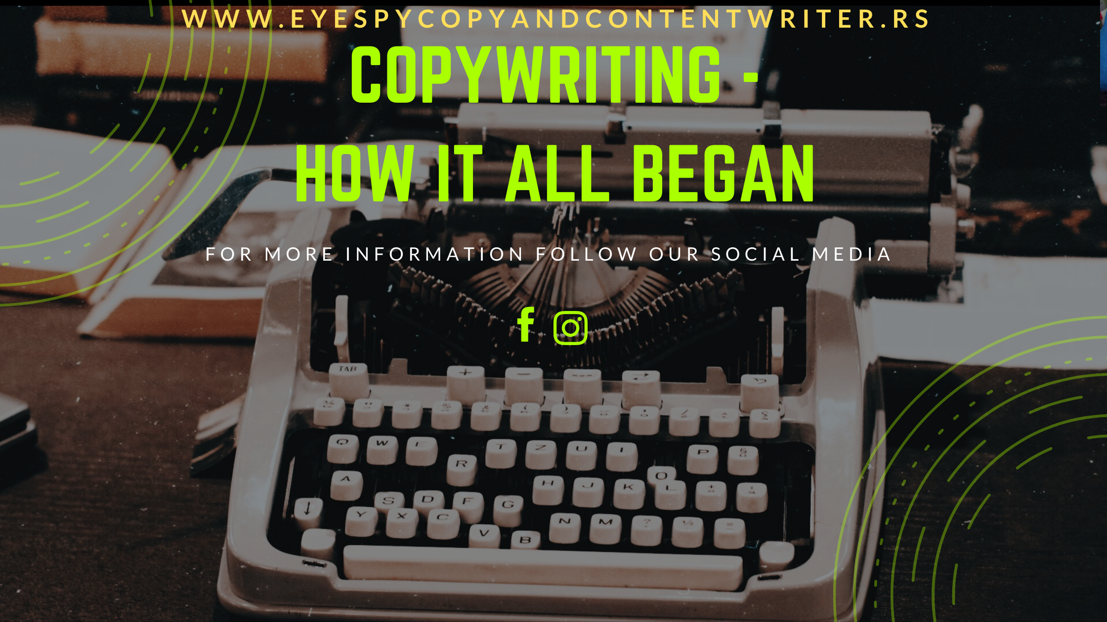 Copywriting — How It All Began